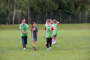 Philosophie Charakter bei der Alpenkick Fussballschule