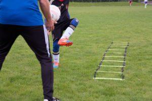 Philosophie Technik bei der Alpenkick Fussballschule