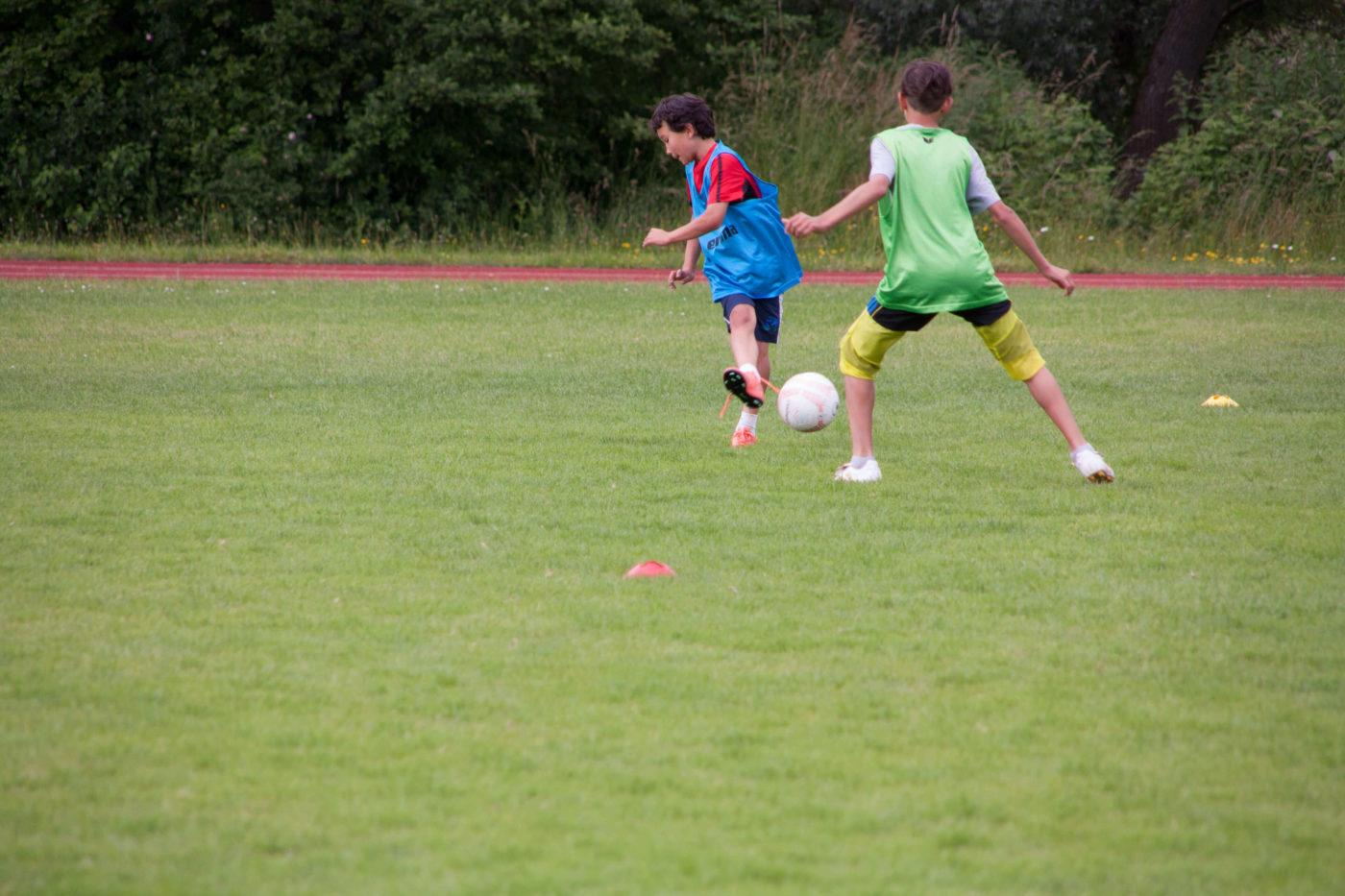 Die Fussballschule Alpenkick zeigt Videoanalysen von Trainingseinheiten und Spielen